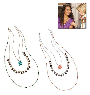 On the 4th Day of Christmas Jackie Gave to Me: a mark. LAYER THEM ON NECKLACE FOR FREE!!