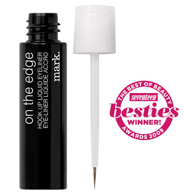 On the 16th Day of Christmas Jackie Gave to me: ON THE EDGE HOOK UP LIQUID EYE LINER FOR FREE!!