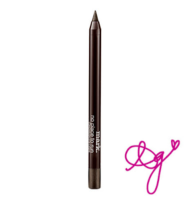 On the 17th Day of Christmas Jackie gave to me: NO PLACE TO RUN EYELINER IN JET SET FOR FREE!
