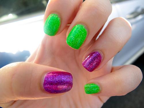 Bubbly Glitter Bombshell Envy!