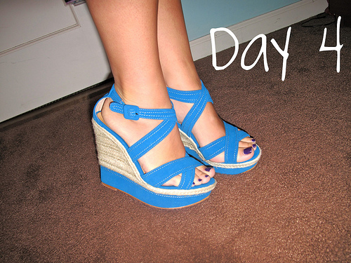 Closet Confessions: 30 Day Shoe Challenge DAY 4