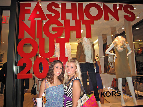 Fashion's Night Out 2011 – NYC
