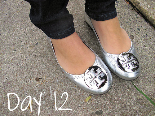 Closet Confessions: 30 Day Shoe Challenge DAY 12