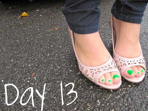 Closet Confessions: 30 Day Shoe Challenge DAY 13