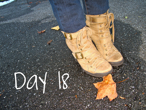 Closet Confessions: 30 Day Shoe Challenge DAY 18
