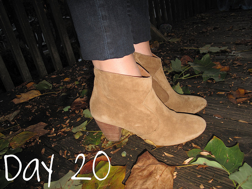 Closet Confessions: 30 Day Shoe Challenge DAY 20