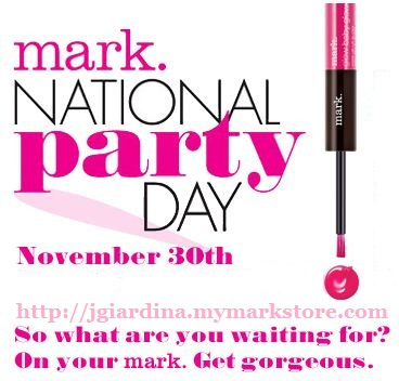 TODAY is National mark. Party Day & You're INVITED!!