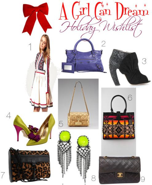 "My ""A Girl Can Dream"" Holiday Wishlist"