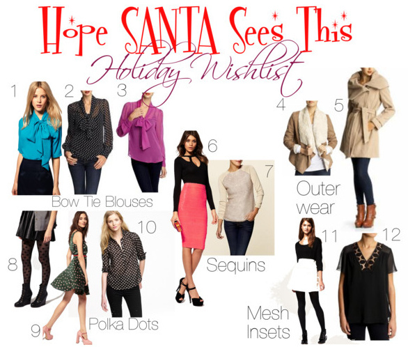 "My ""Hope SANTA Sees This"" Holiday Wishlist"