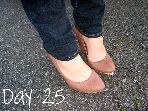 Closet Confessions: 30 Day Shoe Challenge DAY 25
