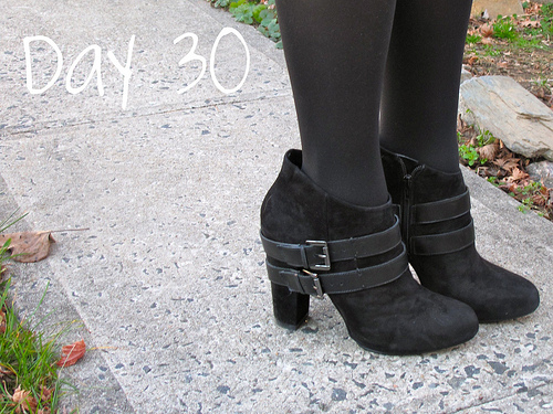 Closet Confessions: 30 Day Shoe Challenge DAY 30