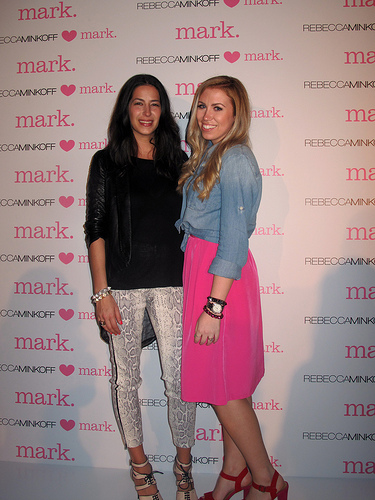 Rebecca Minkoff HEARTS mark. Release Party!