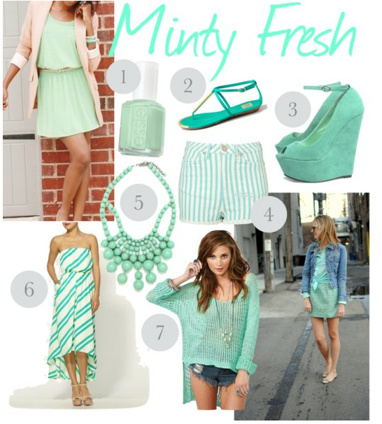 OBSESSION: Minty Fresh