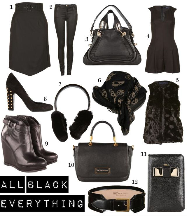 OBSESSION: All Black Everything