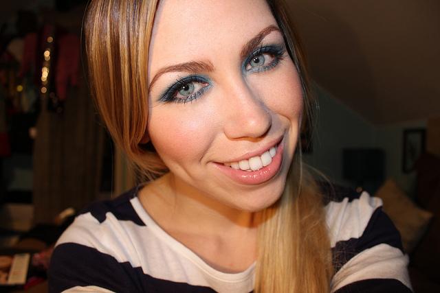 mark. Makeup Monday: Electric Blue