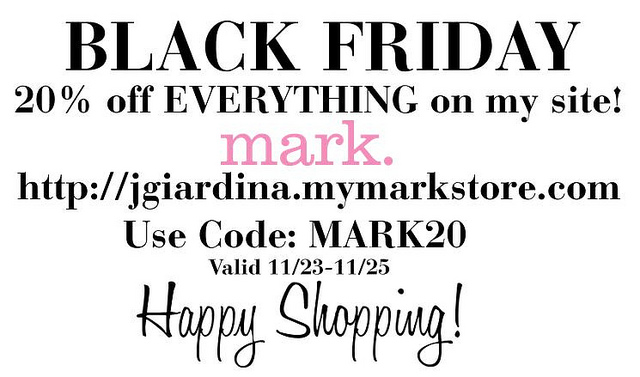 BLACK FRIDAY: Shop my INSTAGRAM with THIS 20% Off Coupon!