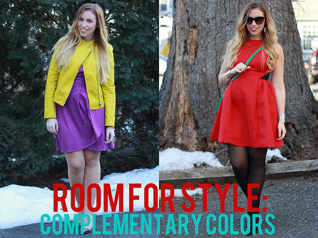 Room for Style: Fashion with Complementary Colors