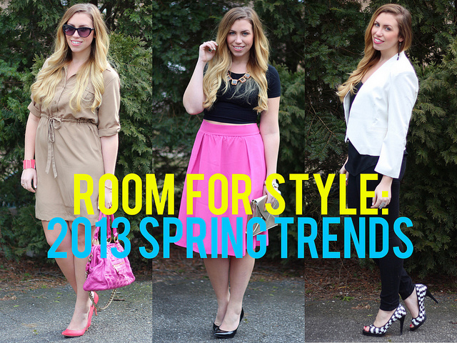 Room for Style: 2013 Spring Fashion Trends