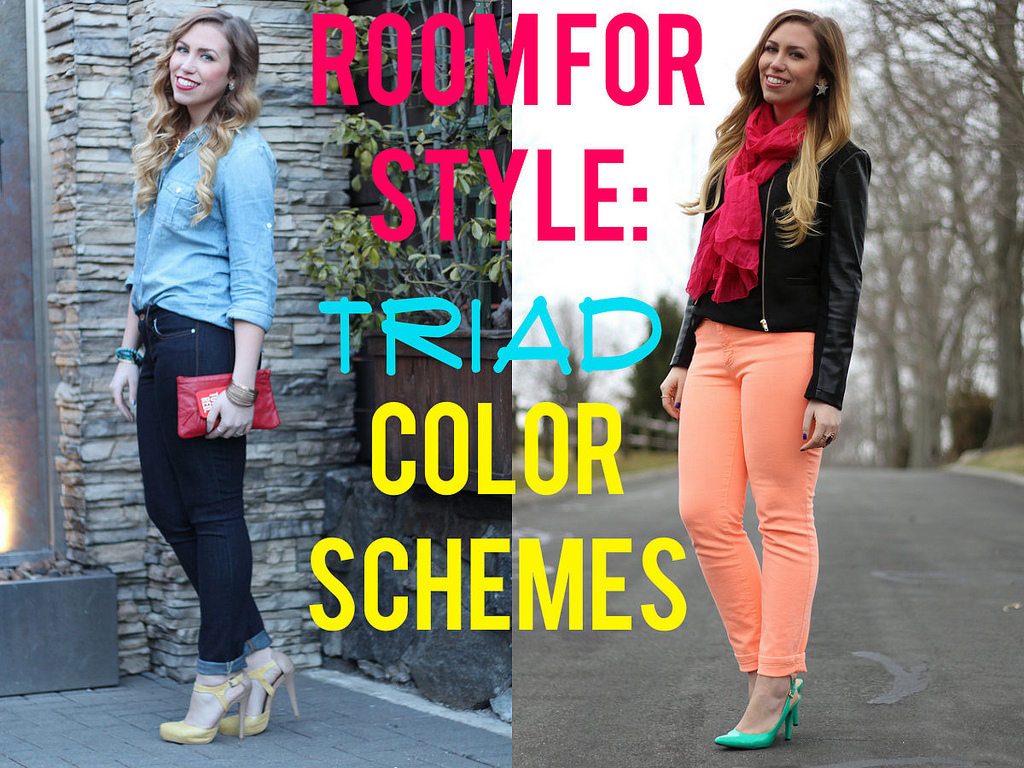Room for Style: Fashion with Triad Color Schemes