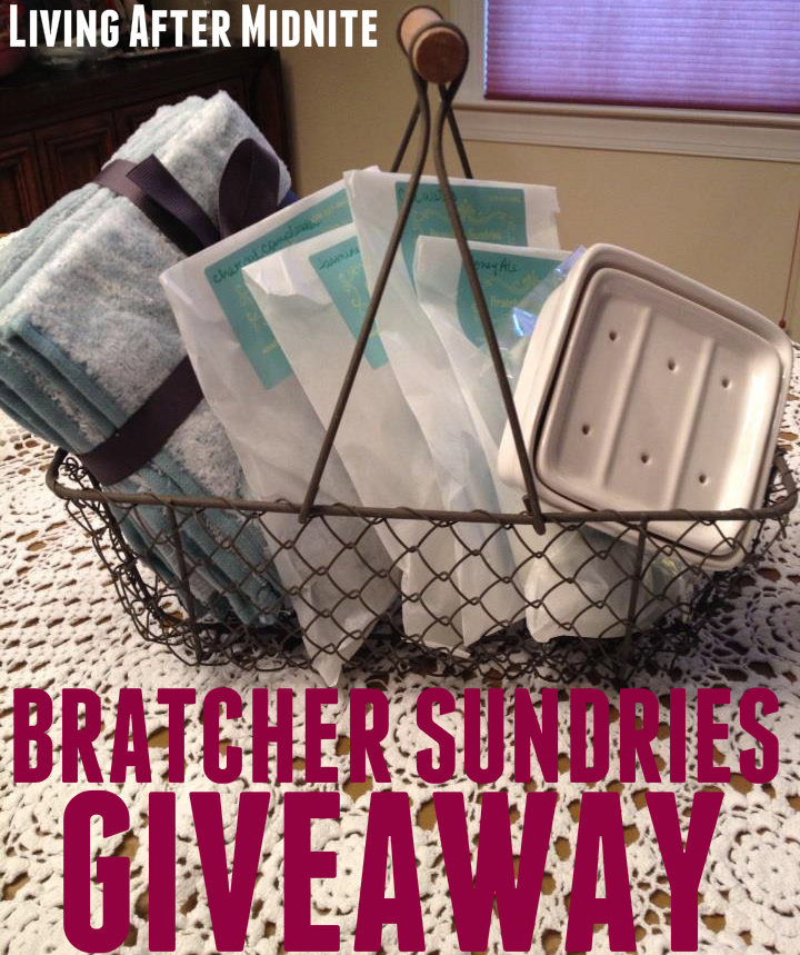 GIVEAWAY: Bratcher Sundries Handmade Soaps Basket – CLOSED