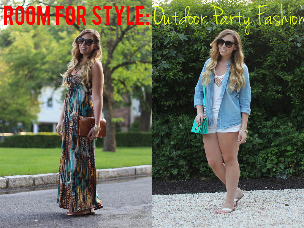 what to wear to an outdoor party in the summer
