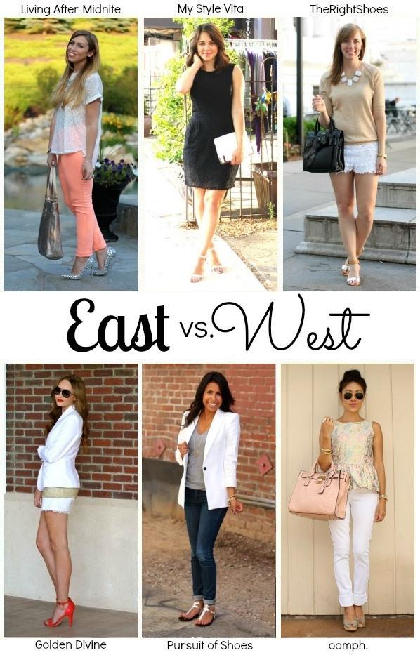 East vs. West Style: Metallics