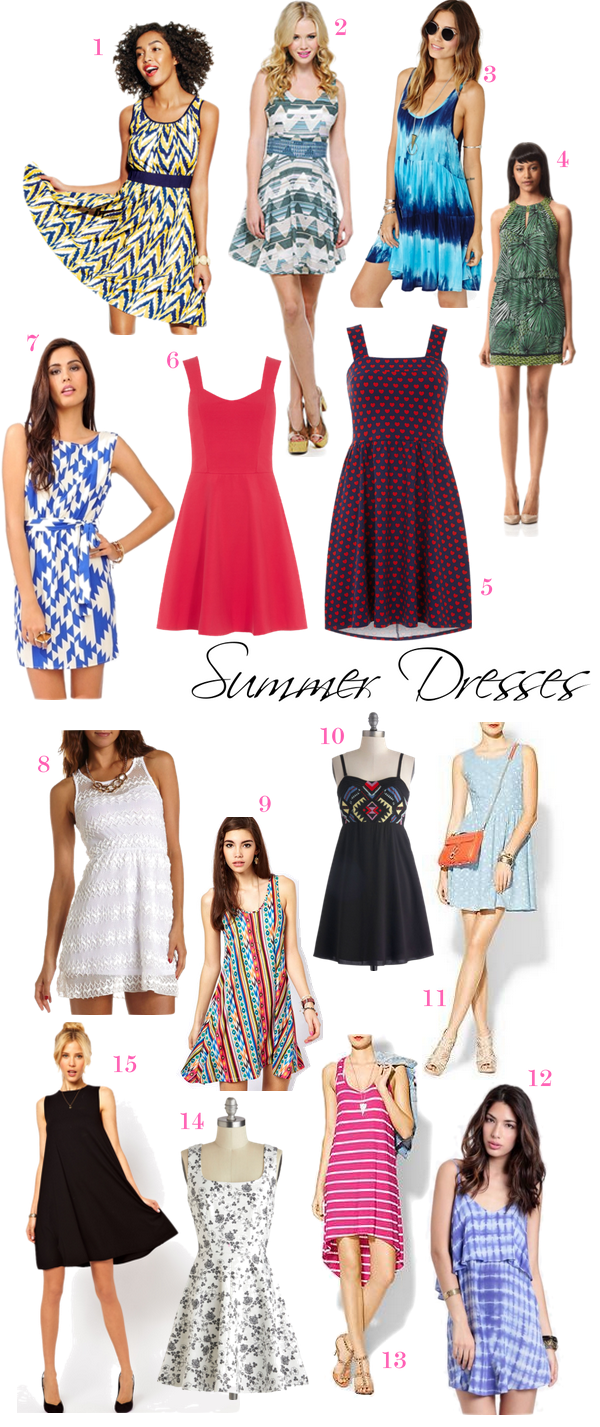 OBSESSION: Summer Dresses