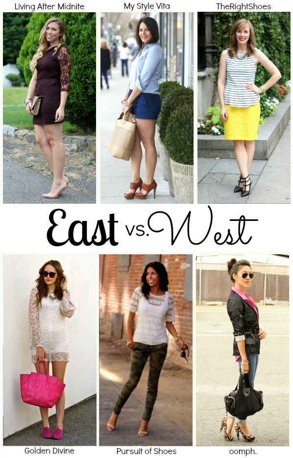 East vs. West Style: Lace