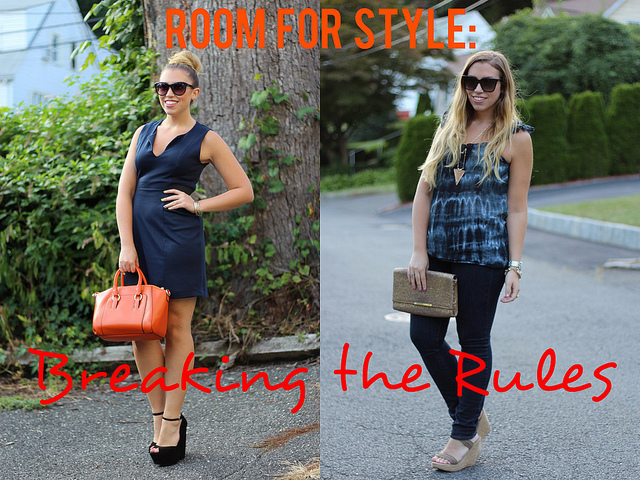 Room for Style: Fashion Rules are Meant to be Broken
