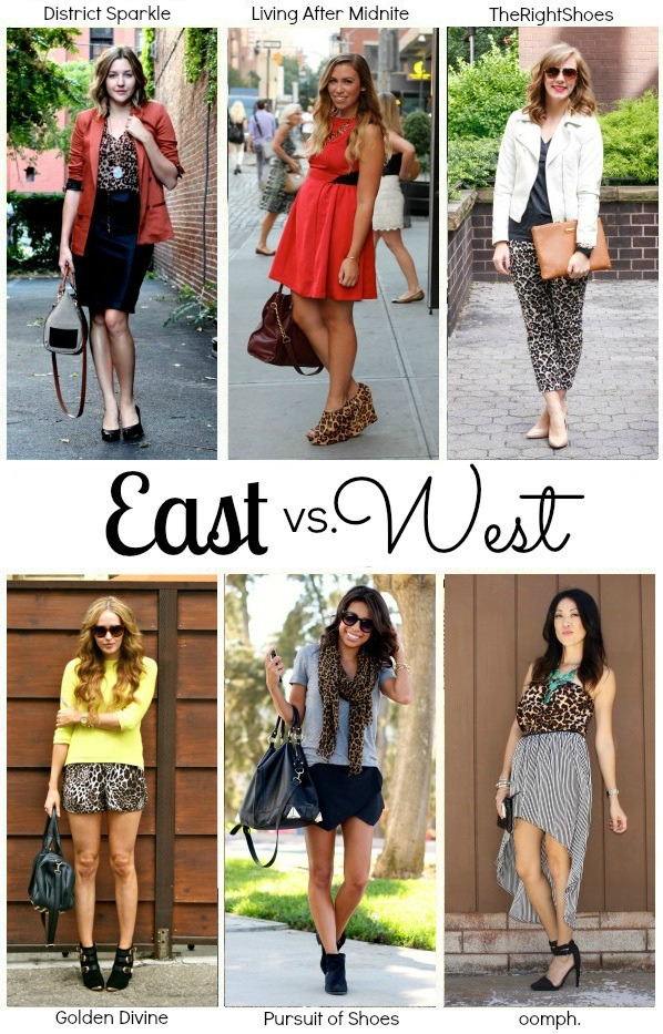 East vs West Style: Leopard