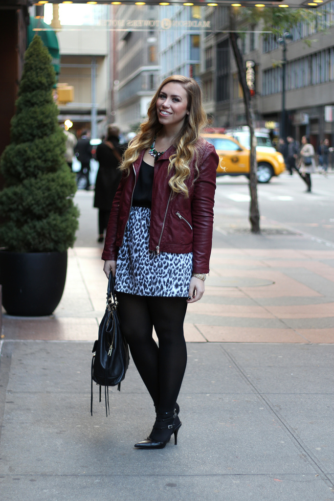 Leopard Skirting Around + ILY Couture Giveaway
