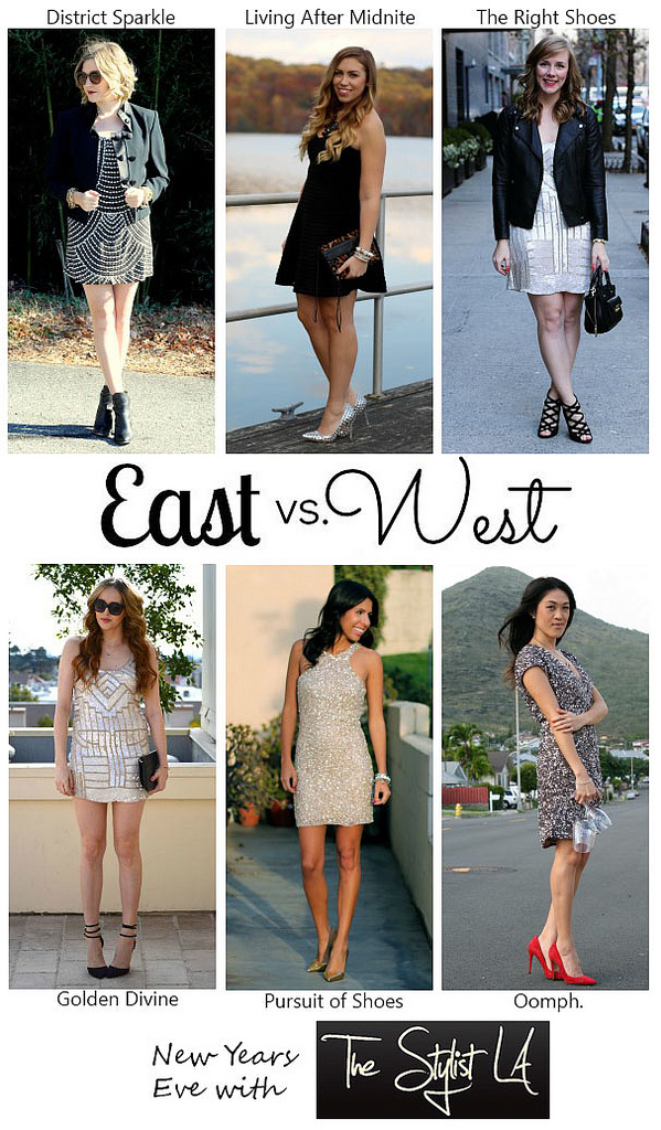 East vs. West Style: New Year's Eve
