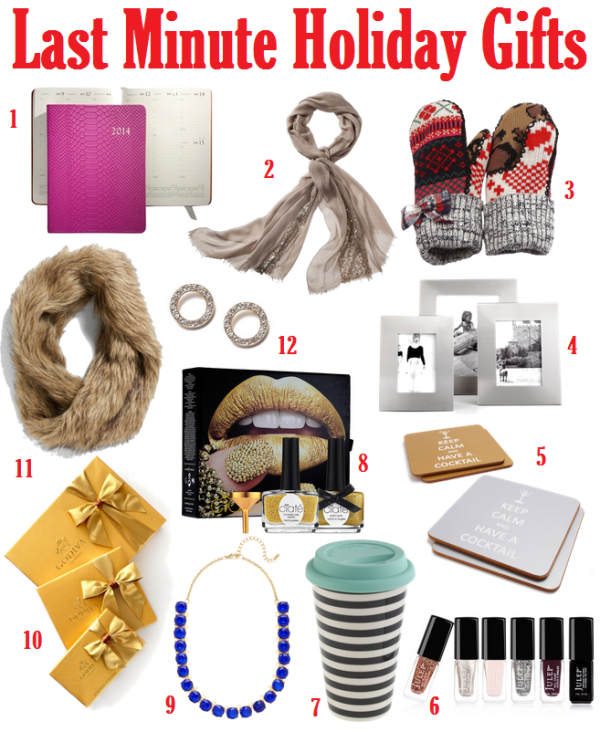 Room for Style: Last Minute Holiday Gifts