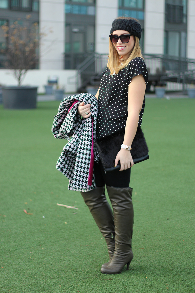 Polka Dots & Houndstooth + Galian Giveaway