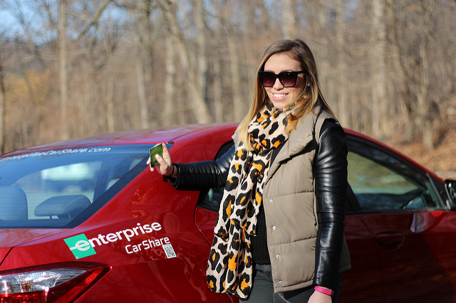 Shopping with Enterprise CarShare + a Giveaway