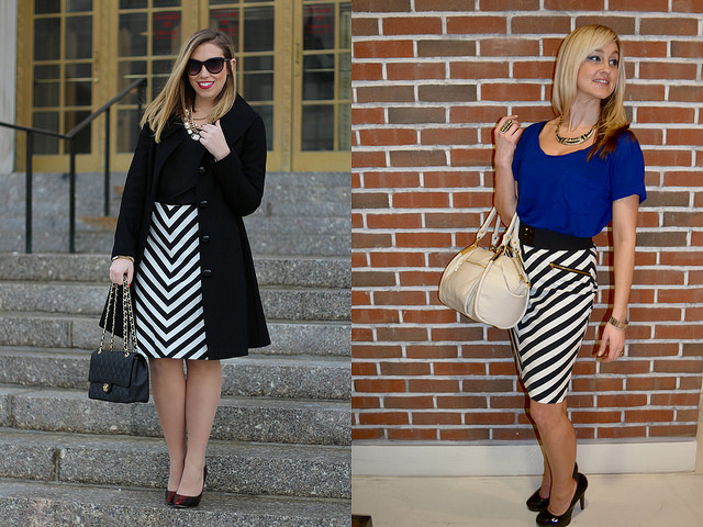 Wear & Share Wednesday: mark. High Contrast Skirt