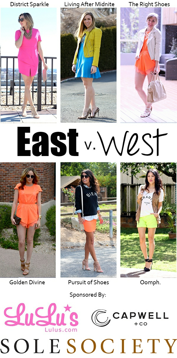 East vs. West Style: Neon