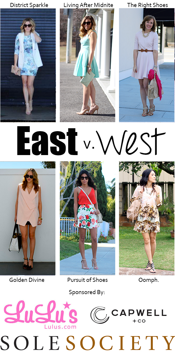 East vs. West Style: Pastel