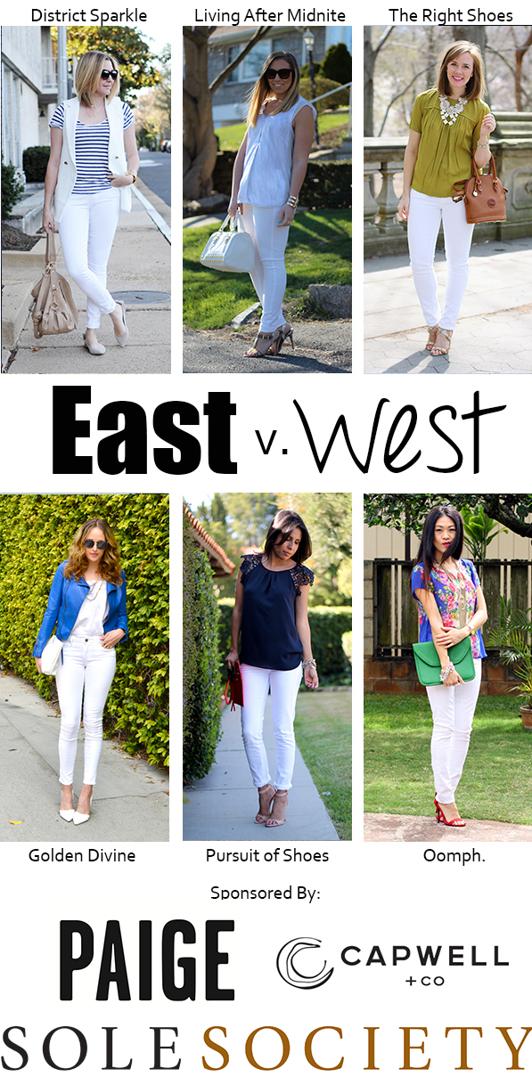 East vs. West Style: White Jeans