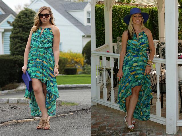 Wear & Share Wednesday: mark. Island Elegance Maxi Dress