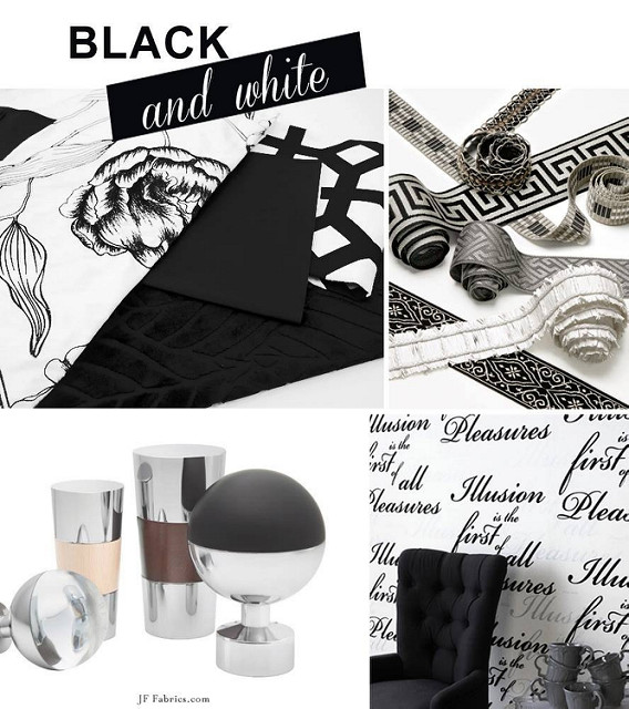 Room for Style: Black & White Design