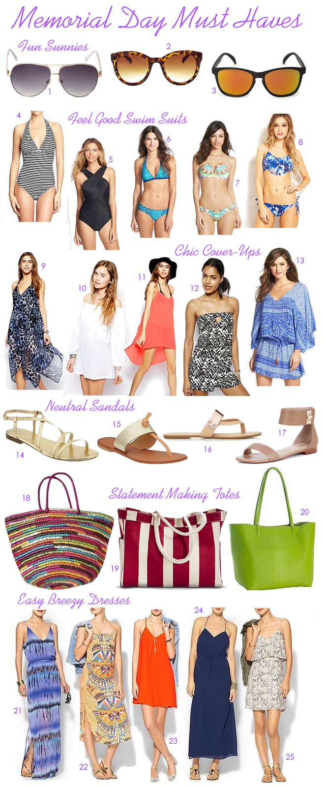 Memorial Day Must Haves!