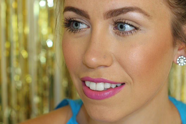 Makeup Monday: Purple Summer Lipstick