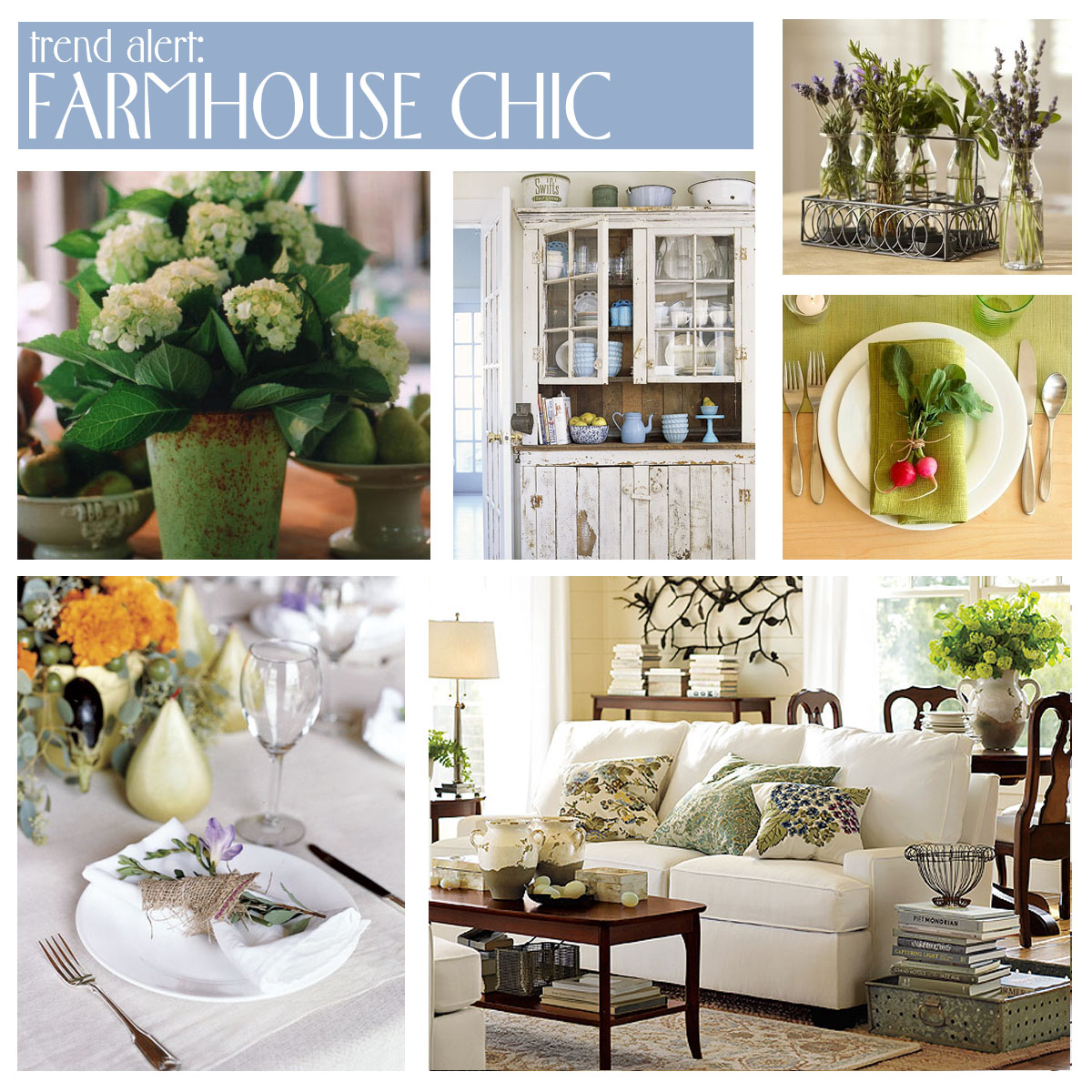 Room for Style: Decorating | Farmhouse Chic
