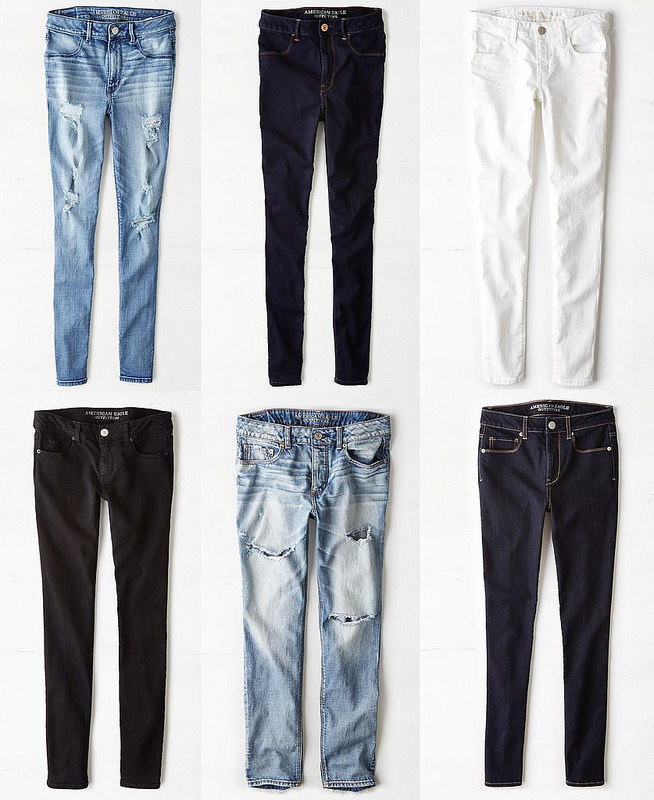 My Fall Jean Must Haves from American Eagle