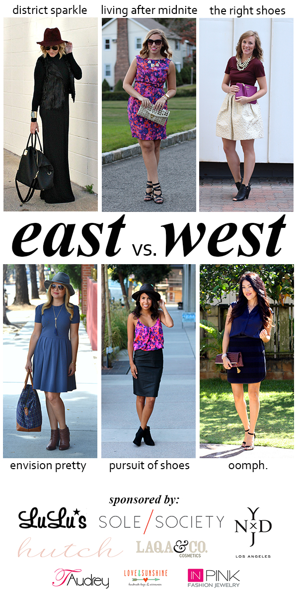 East vs. West Style: Jewel Tones