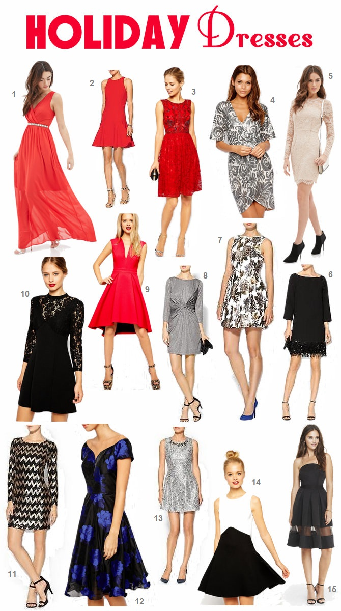 Obsession: Holiday Party Dresses