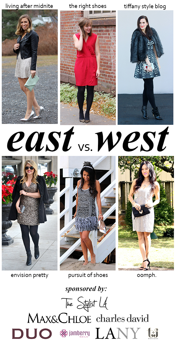 East vs. West Style: NYE