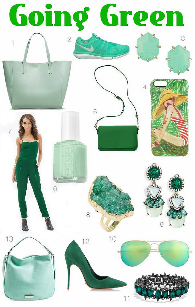 Obsession: Going Green