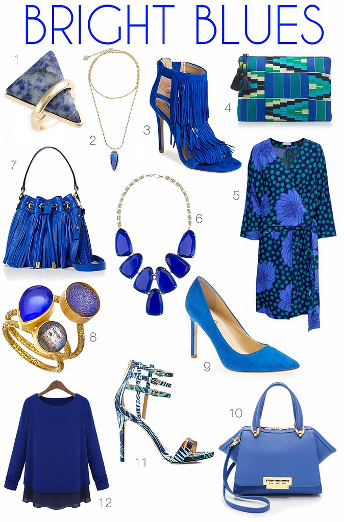 Obsession: Bright Blues